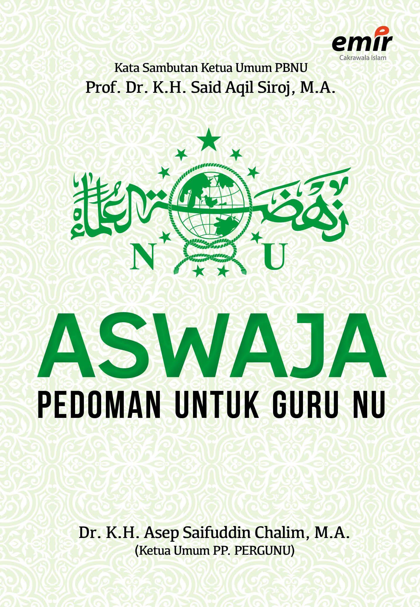 Aswaja; Pedoman untuk Guru NU